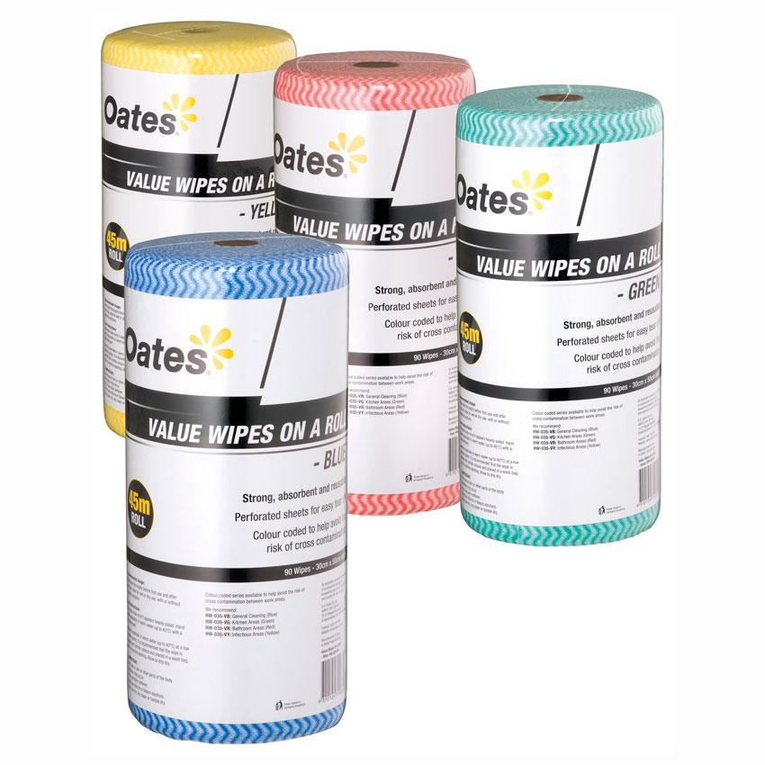 Oates Value Wipes 90pcs