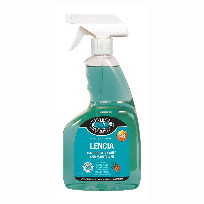 750ml Lencia Bathroom Cleaner