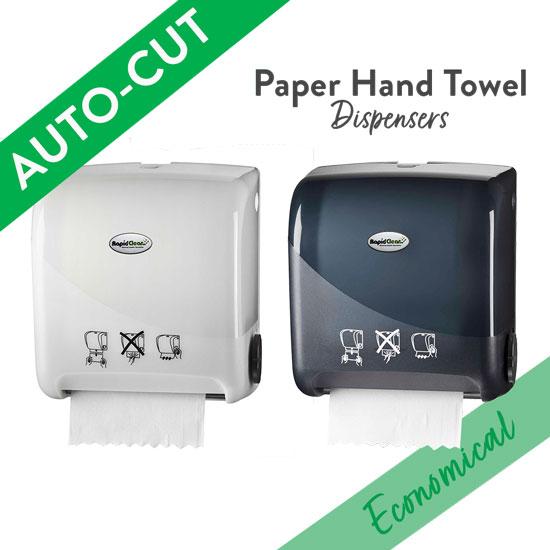 Auto Cut Paper Hand Towel Dispenser