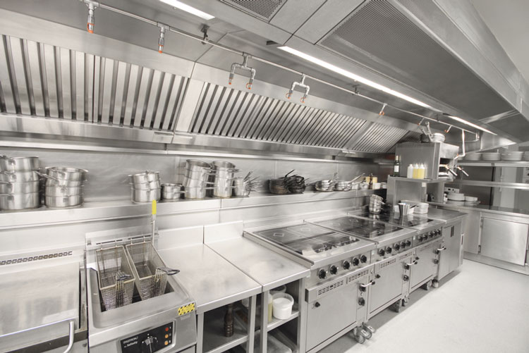 Cleaning Commercial Kitchen with Rapid Clean Newcastle