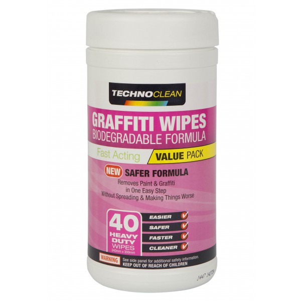 Graffeti Removing Wipes