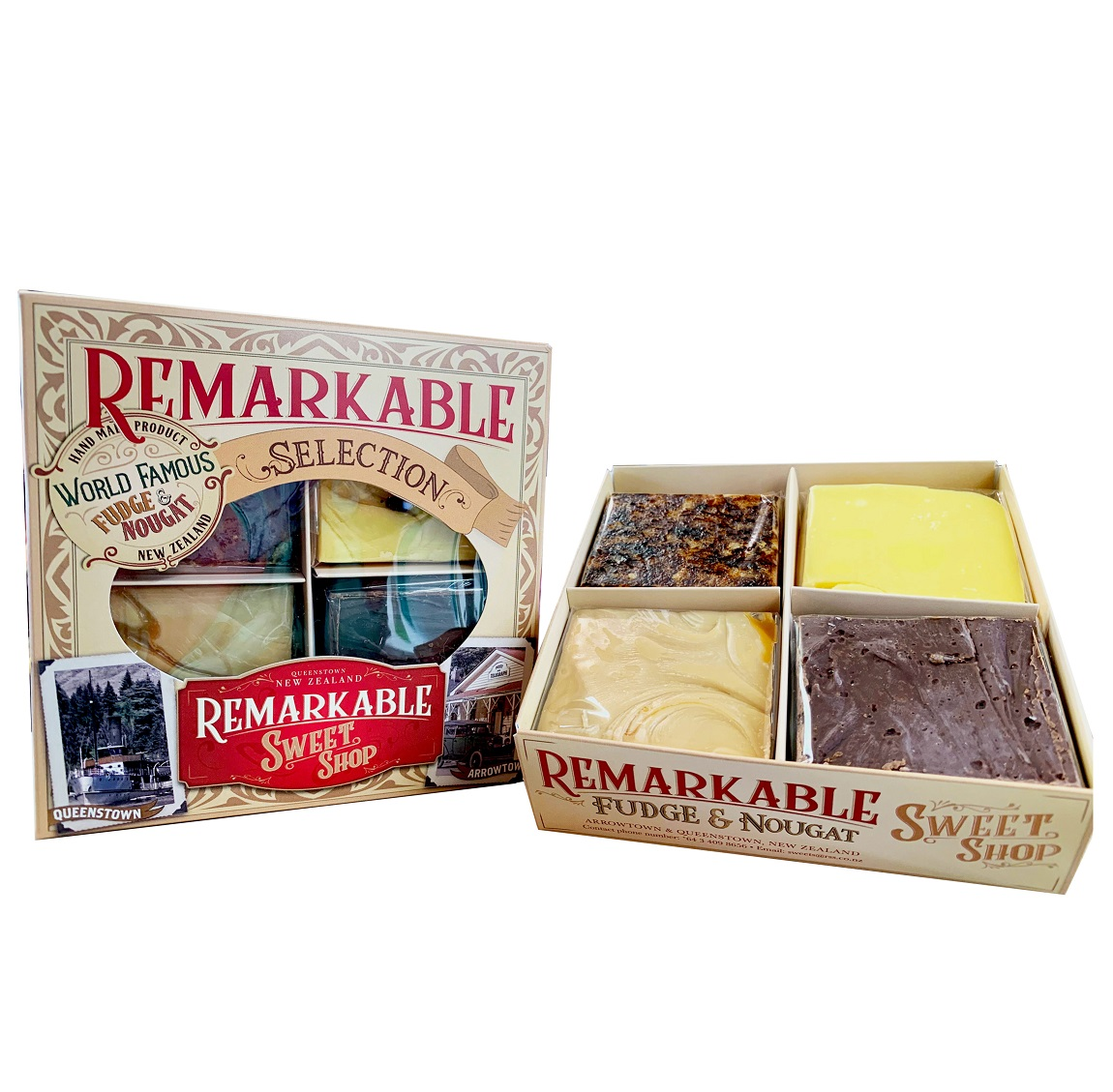 4 Piece Remarkable Fudge Gift Box