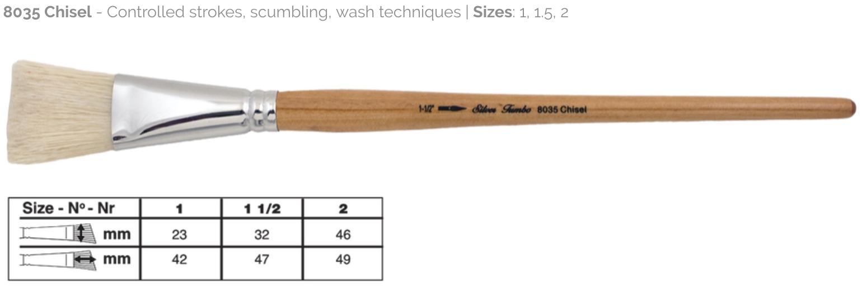 8035 Silver Brush