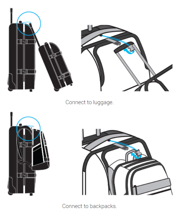 Dakine Global Clip and Connect - Make travelling easier