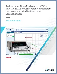 Application Note - 1KW-61694-0_Testing_Laser_Diodes_VCSELs_2601B-PULSE_KickStart