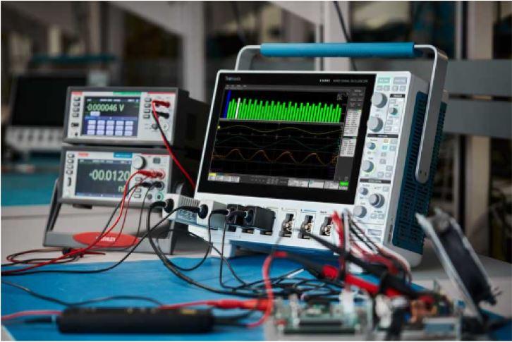 Tektronix 4 Series MSO power supply measurements and analysis