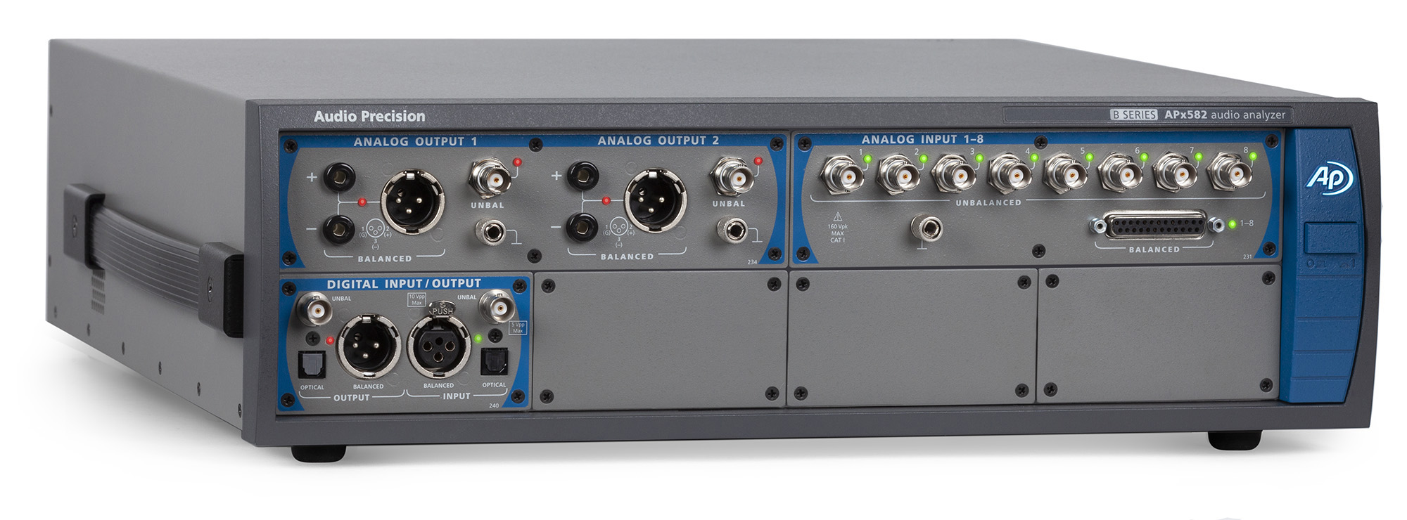 APx582 Audio Analayser front 3-4