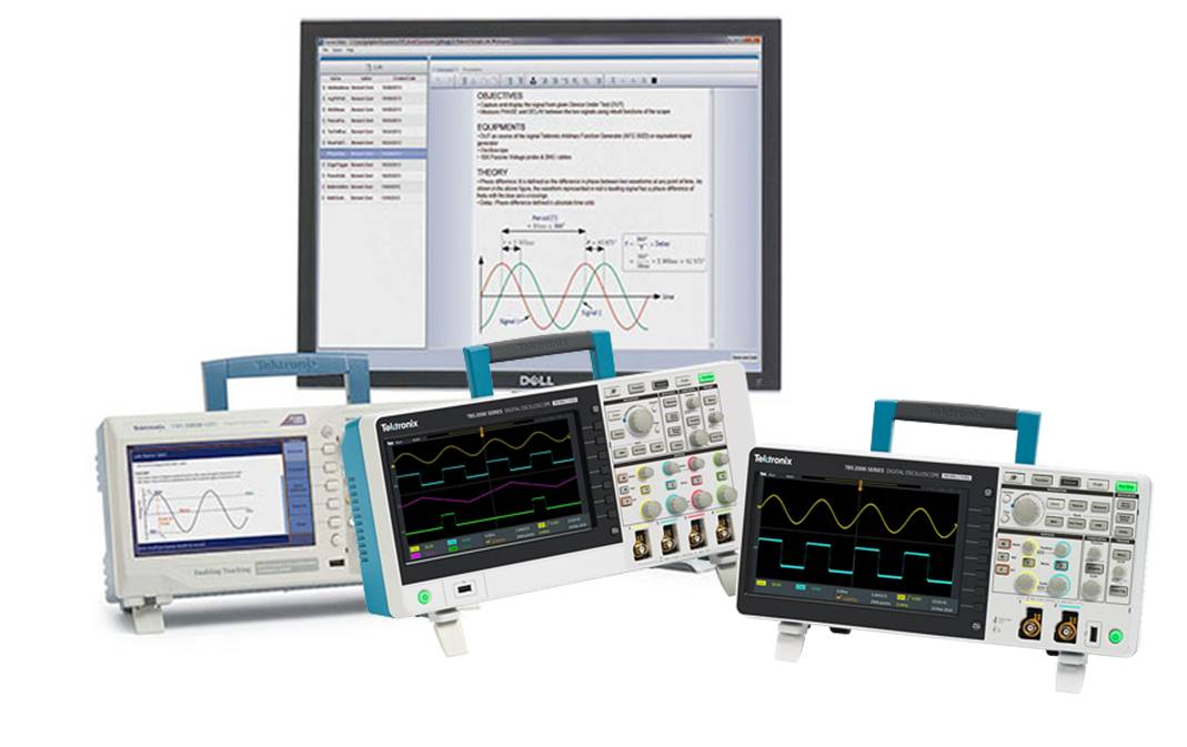 Tektronix Basic Scopes