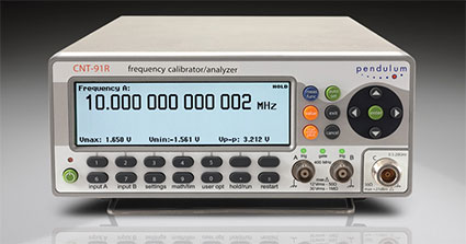 Pendulum CNT91 Frequency Timer/Counter/Analyzer/Calibrator