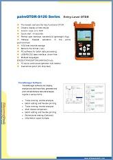 Entry-level ShinewayTech palmOTDR Series spec sheet