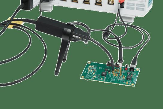 Tektronix IsoVu probe - innovative technology in a space-saving design