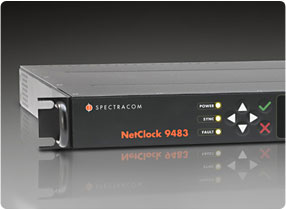Spectracom Netclock 9483 Public Safety Master Clock