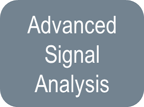 Oscilloscopes, Advanced Signal Analysis, unselected button