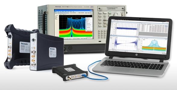 Tektronix Realtime Spectrum Analysers 01