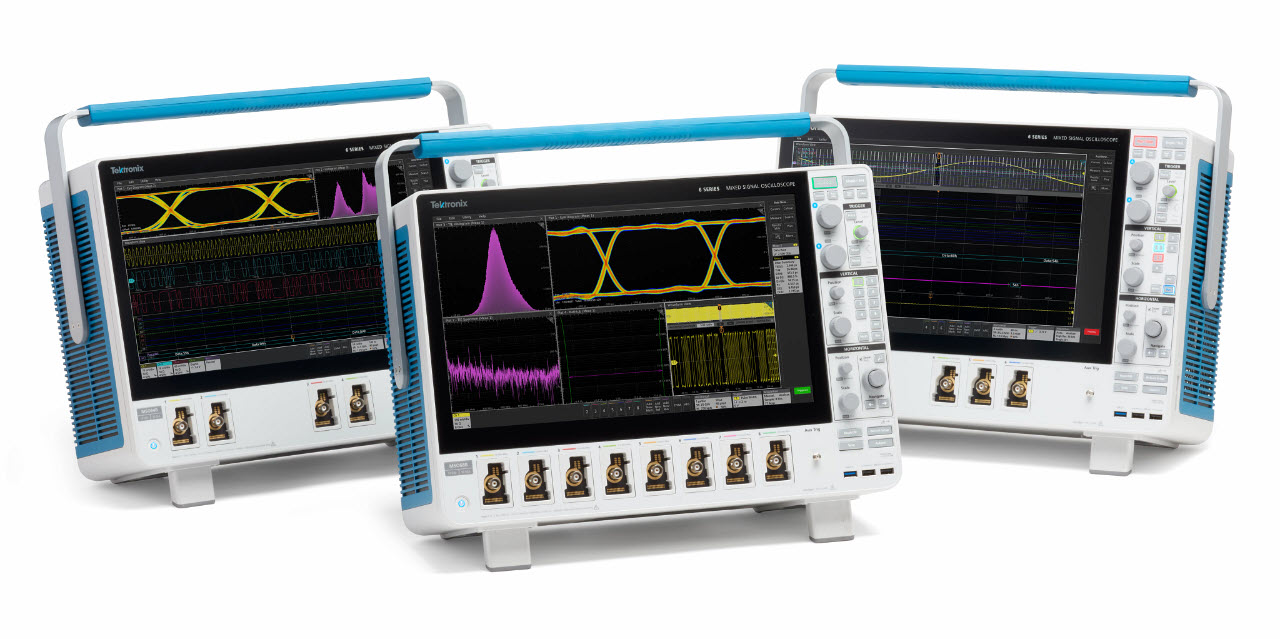 Tektronix 6 Series B MSO family