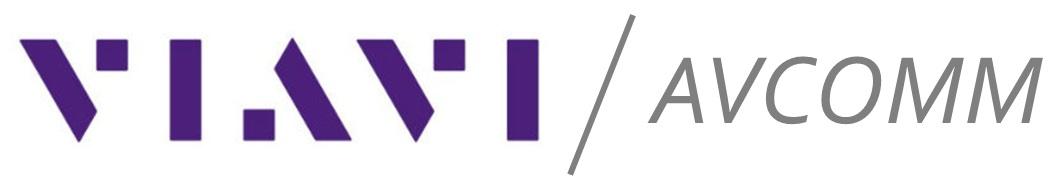 VIAVI AvComm logo