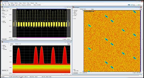 AWG5200 arbitrary waveform generator signal fidelity screen