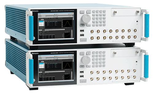 AWG5200 arbitrary waveform generator stacked