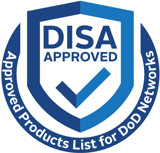 DISA Approved badge
