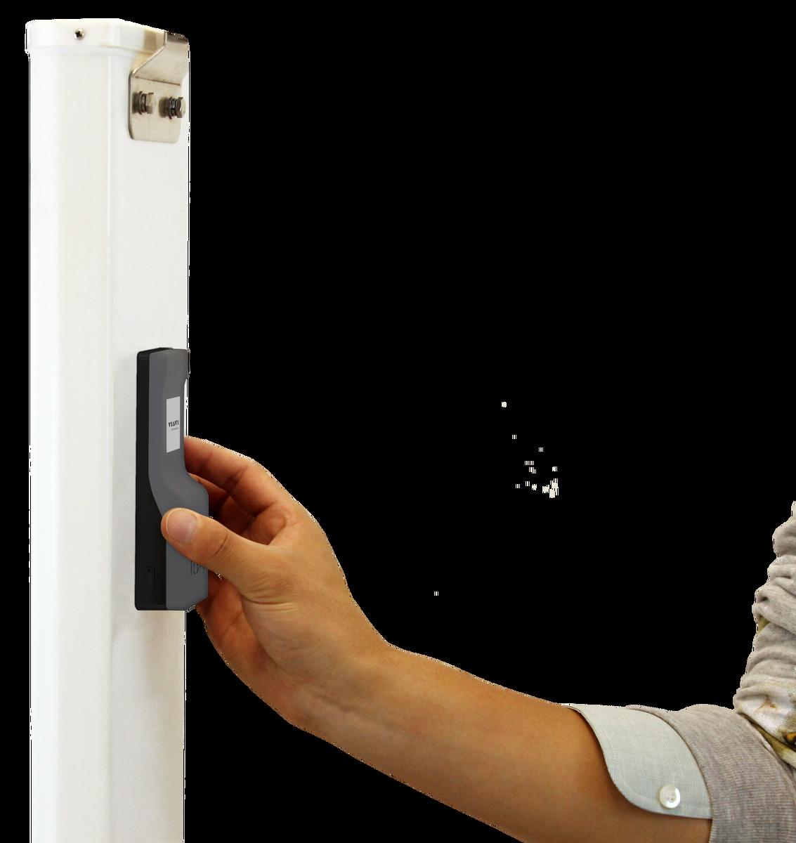 VIAVI IoA Antenna Alignment Sensor mounted