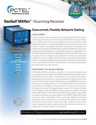 PCTel SeeGull MXflex spec sheet