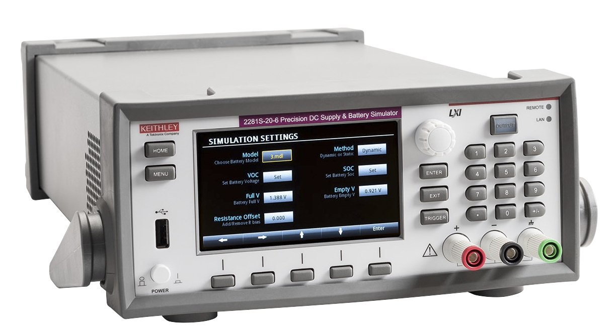 2281S battery simulator