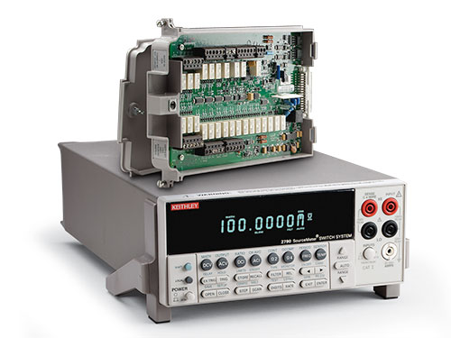 Model 2790-H Digital Multimeter Single-module System for Low and High Voltage/Resistance Applications