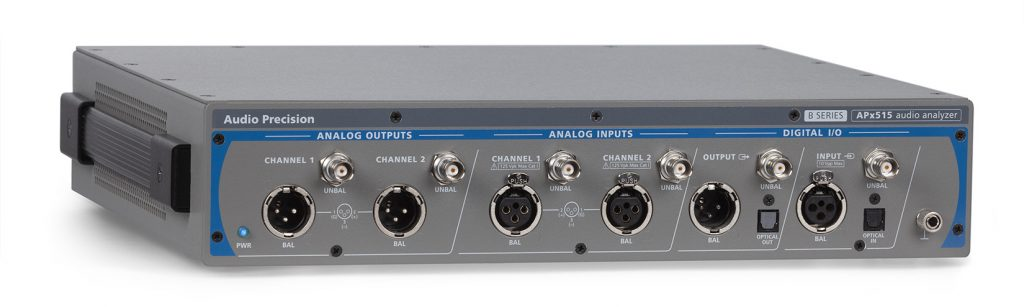 APx515 Audio Analuser front 3-4