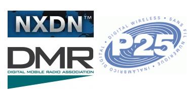 NXDN, DMR & P25