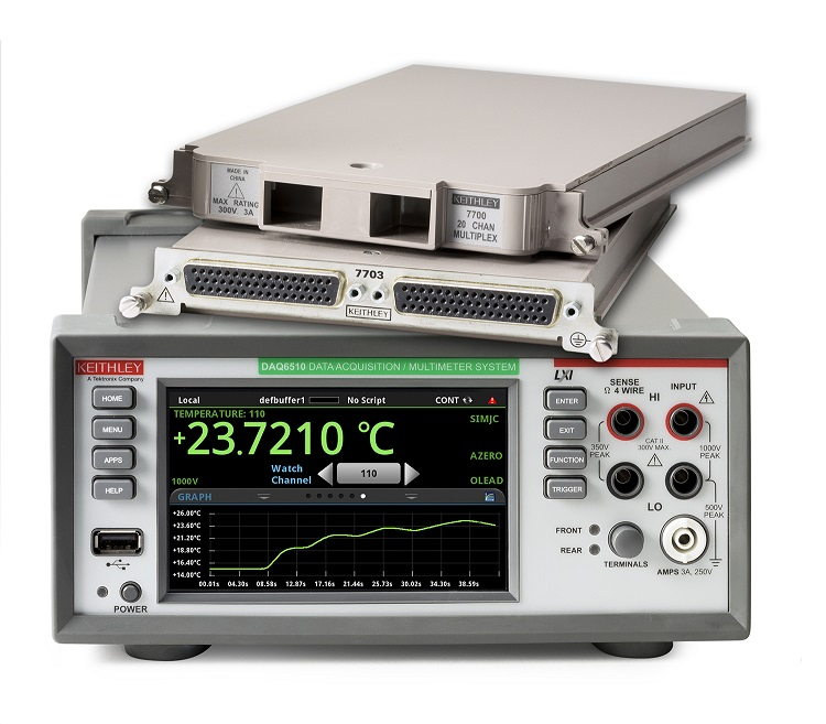 DAQ6510 Data Acquisition & Logging Multimer System