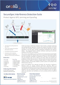 Interference Detection Suite Precision Timing option