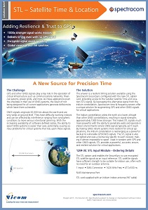 STL Precision Timing Option Solution Brief