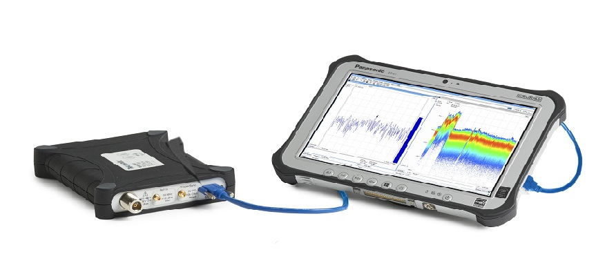 RSA306B with tablet PC