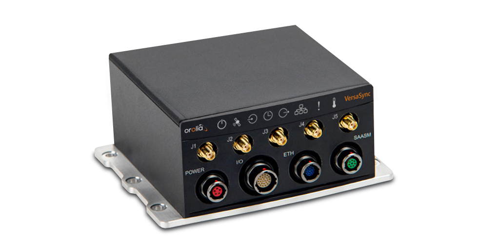 Orolia VersaSync Rugged GPS Time & Frequency Reference System