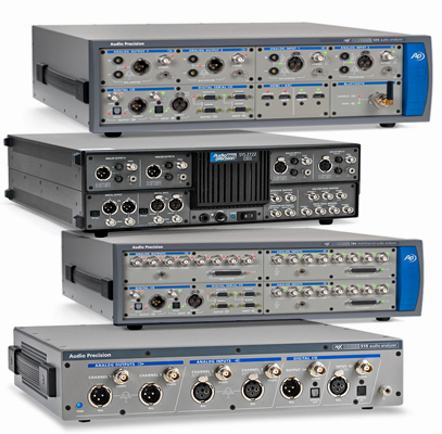 Audio Analysers
