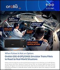 Orolia GSG-8 Case Study - Pilot Training