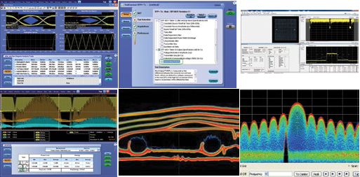 Tektronix oscilloscope software