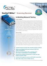 PCTel SeeGull IBflex spec sheet