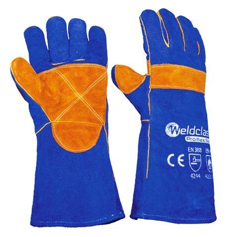 Promax Blue Welding Gloves