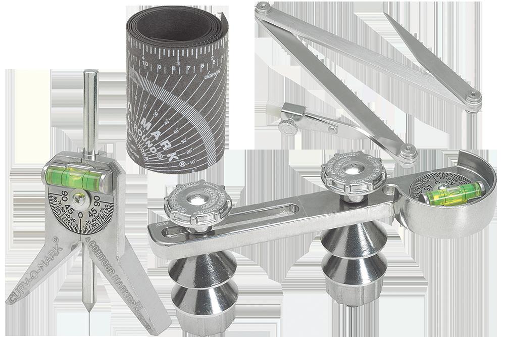 Contour, Curv-O-Mark & Wrap-A-Round Pipe Tools
