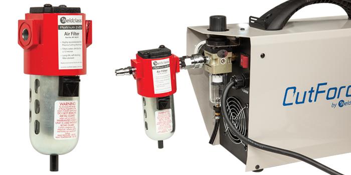 best air filter for plasma cutting - Weldclass Platinum Z-20 high performance air filter for plasma cutter