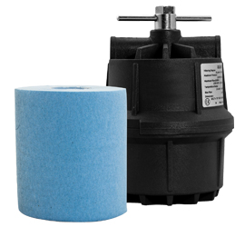 sub-micronic roll type air filter
